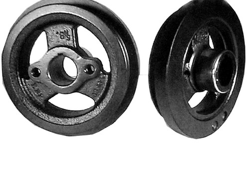 FORD 223 1962-63 SINGLE GROOVE BELT PULLEY 2 BOLT HUB